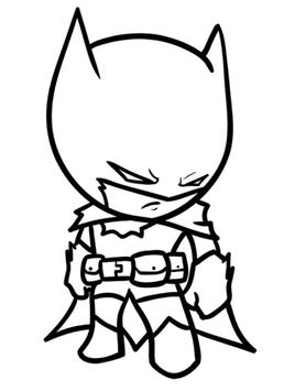 How to Draw Superheroes Chibi screenshot 7