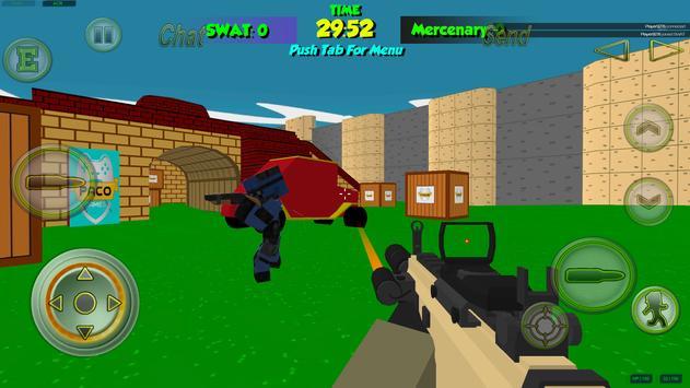 Blocky Combat Swat Edge apk screenshot