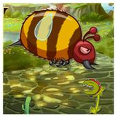 flying Bee flap adventure icon