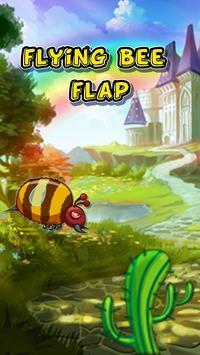 flying Bee flap adventure poster