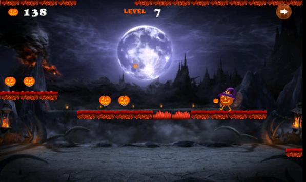 run monster halloween pumpkin apk screenshot