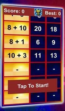 Quick Math Workout poster