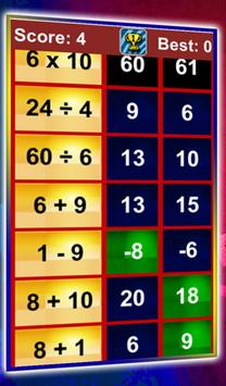 Quick Math Workout screenshot 1