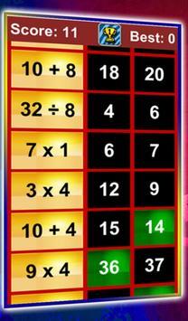 Quick Math Workout screenshot 2