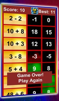 Quick Math Workout screenshot 3