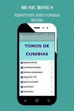 Cumbias Ringtones apk screenshot
