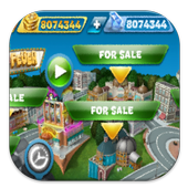 Gems Coins Cooking Fever icon