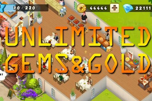 Gems Golds World Chef apk screenshot