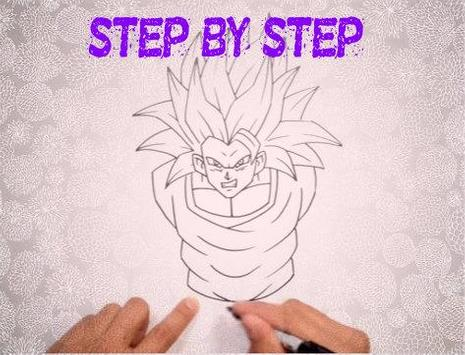 How to Draw DBZ Characters screenshot 4