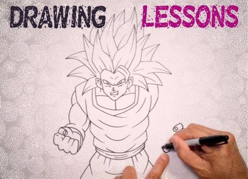 How to Draw DBZ Characters screenshot 5
