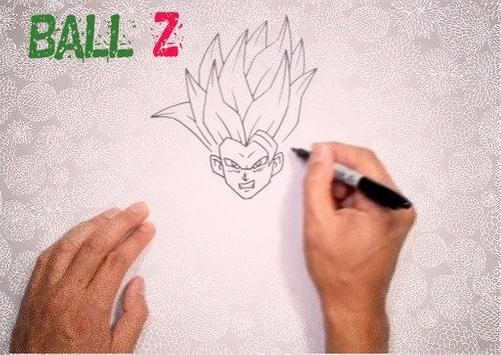 How to Draw DBZ Characters screenshot 2