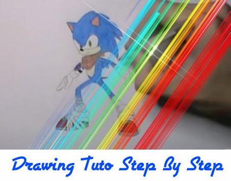 How to Draw Sonic Characters screenshot 2