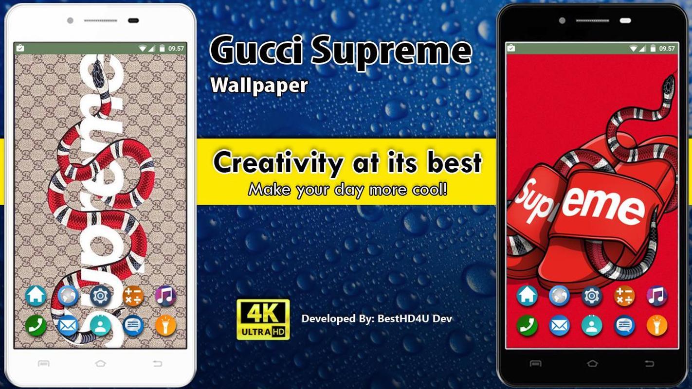 ... Gucci Supreme Wallpaper screenshot 4 ...