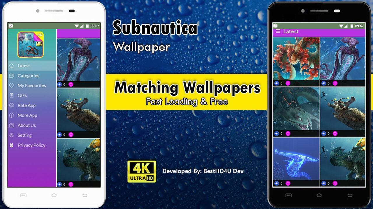 Subnautica Wallpaper poster Subnautica Wallpaper screenshot 1 ...