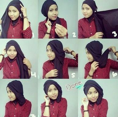 Hijab Tutorial Step By Step For Android Apk Download