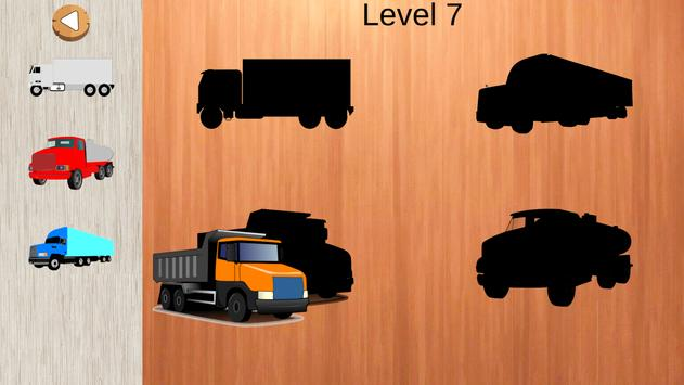 Trucks Puzzles For Toddlers poster