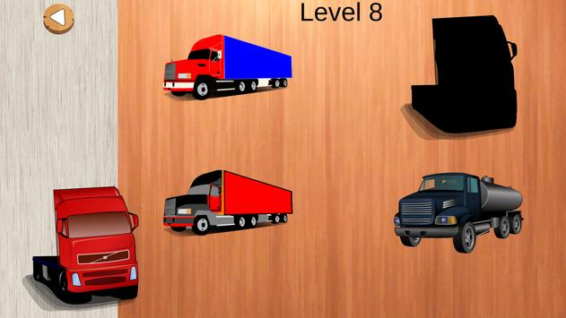 Trucks Puzzles For Toddlers screenshot 1