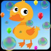Animal Sounds & Balloon Pop icon