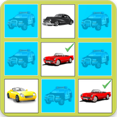 Cars Memory Game icon
