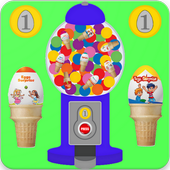 Ice Cream Eggs Vending Machine icon