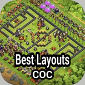 Best Layouts for COC icon