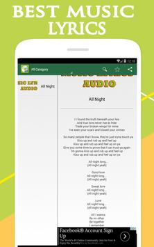 beyonce - all night lyrics screenshot 1