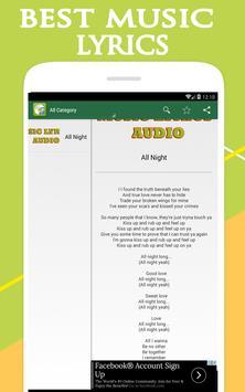 beyonce - all night lyrics screenshot 2