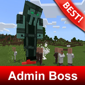 Admin Boss Mod for Minecraft MCPE icon