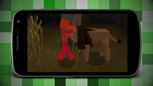 Mine Animals Add-on for MCPE poster