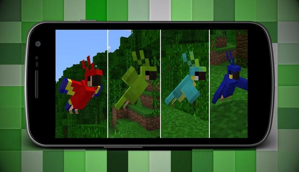 Birds Addons for Minecraft MCPE poster