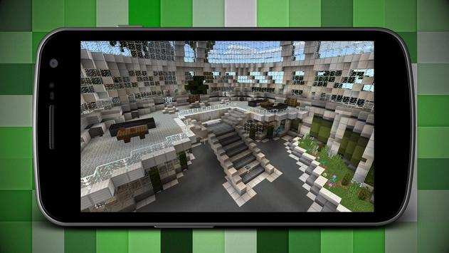 Diamond Lab PE Map for Minecraft MCPE apk screenshot