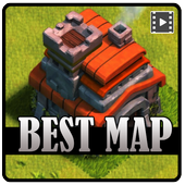 Best Map Clash of clans 2017 icon