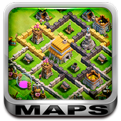 War Maps for Clash of Clans icon