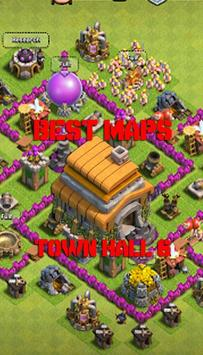 Best Base COC Town Hall 6 apk screenshot