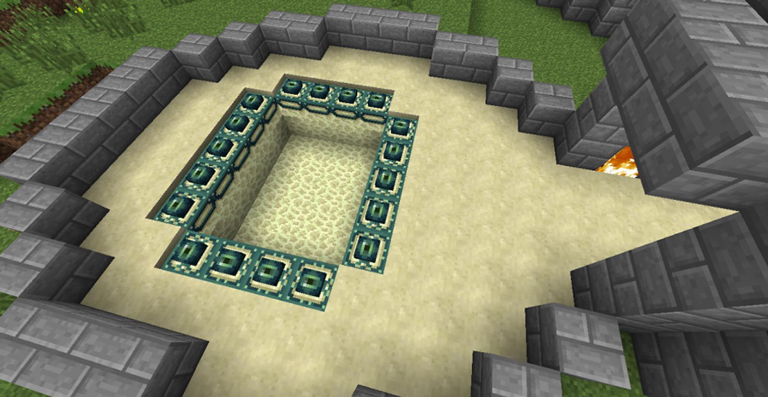 ender portal minecraft pe mod