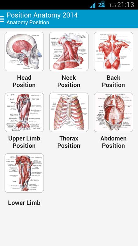 Human Anatomy Position Apk Download Free Medical App For Android