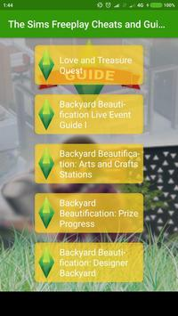 Cheats and Guide 2018 for The Sims Free Plays apk screenshot