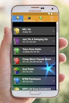 20s 30s 40s 50s 60s 70s 80s 90s Music Oldies Radio poster