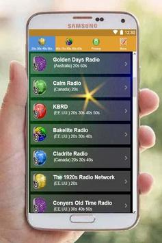 20s 30s 40s 50s 60s 70s 80s 90s Music Oldies Radio screenshot 1