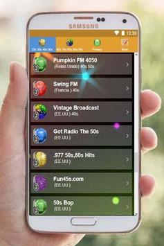 20s 30s 40s 50s 60s 70s 80s 90s Music Oldies Radio screenshot 3