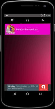 Musica Baladas Romanticas Mp3 + Letra apk screenshot