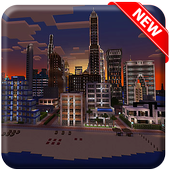 Best City Maps for Minecraft PE icon