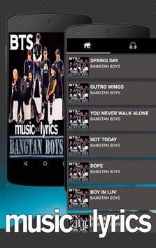 BTS Song Bangtan Boys poster