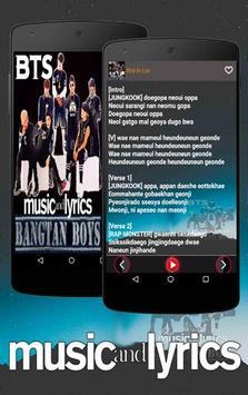 BTS Song Bangtan Boys screenshot 1