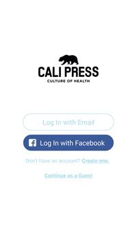 Cali Press Go poster