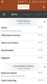 Hunter Gather Eatery &Taphouse apk screenshot