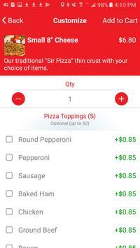 Sir Pizza Michigan screenshot 2