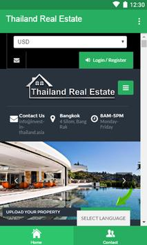 Thailand Real Estate Services poster