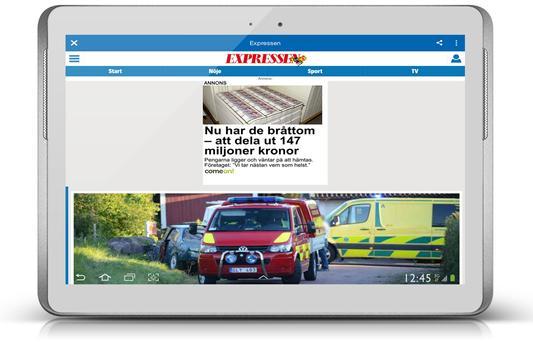 Sweden News - Svenska Nyheter SVT apk screenshot