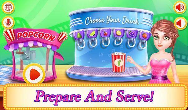 Cinema Movie Night Kids Party poster